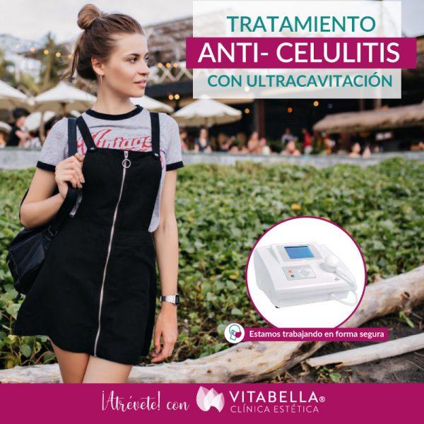 ANTI CELULITIS CON VULTRACAVITACION